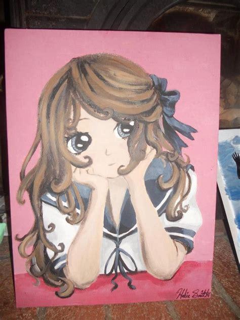 Anime Painting Acrylic My