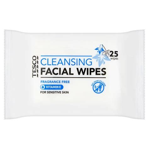 Tesco Detox Products by Tesco Sensitive Wipes 25 S Groceries Tesco