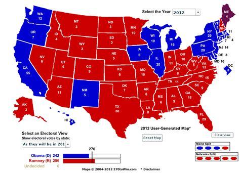 maryland election map 2012 borepatch romney 296 obama 242