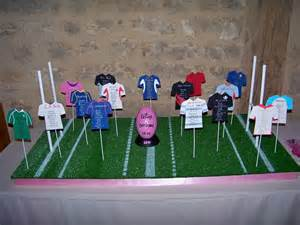 mariage rugby suite decorationmariage allmyblog