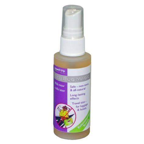bed bug killer spray in household cleaning products