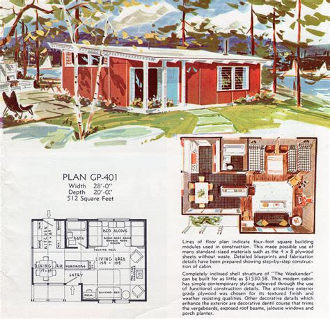 Vintage Floor Plans by Vintage House Floor Plans 1950s Ranch House Floor Plans