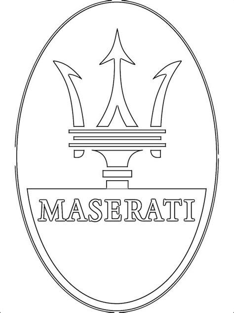 Coloriages à imprimer : Maserati, numéro : 459623
