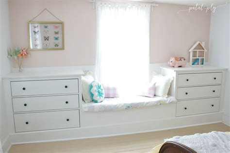 ikea bedroom hacks ikea dresser hack built in window seat petal and ply