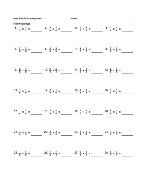 multiplying fractions worksheet multiplying fractions worksheets pdf worksheets