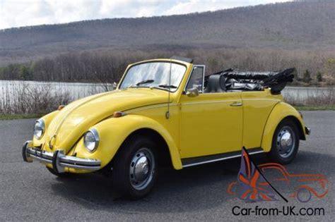 volkswagen beetle classic convertible