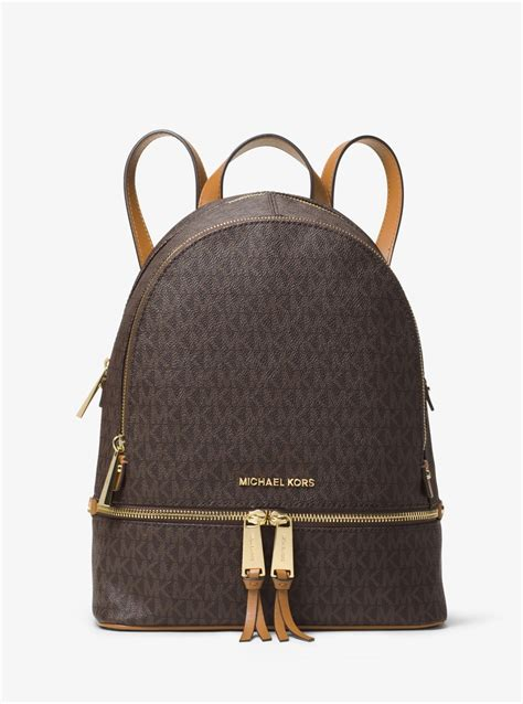 Michael Kors Rhea Backpack michael kors rhea medium backpack leather backpack