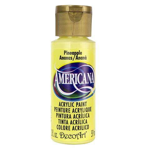 home depot paint list decoart americana 2 oz pineapple acrylic paint dao6 3