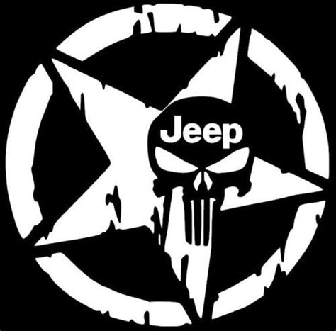 Jeep Skull Sticker Best 20 Punisher Skull Decal Ideas On
