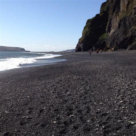 black sand beach iceland iceland black sand beaches vacation destination pinterest