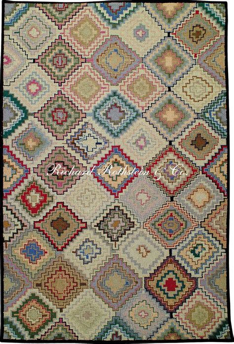 hooked rugs hooked rug quot stepped diamonds quot