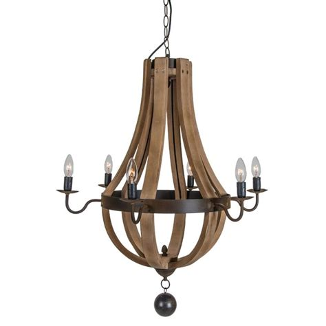 wooden wine barrel chandelier wooden wine barrel stave chandelier for the home