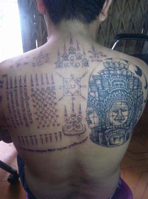 Tattoo Prices Cambodia | sak yant traditional cambodian sacred tattoo phnom penh