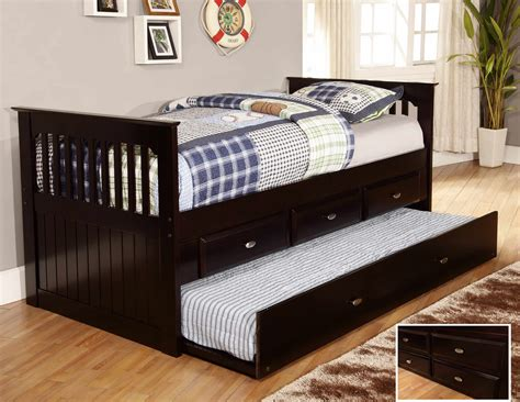 espresso bunk beds discovery world furniture espresso day beds with drawers