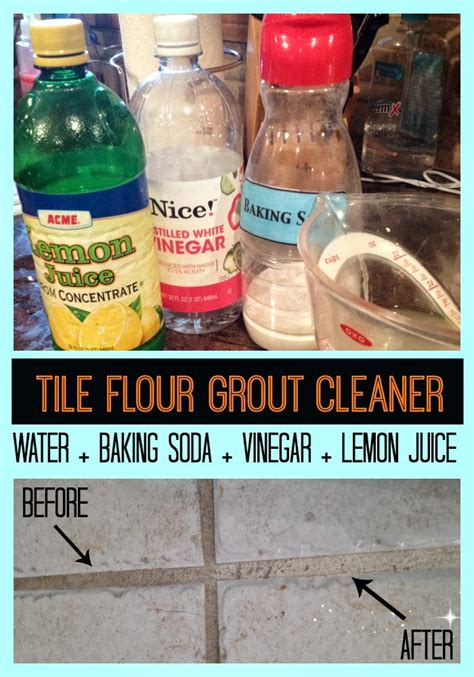omg the easiest way to clean tile floor grout and there