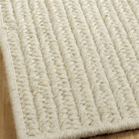 Braided Wool Rug by Eco Friendly Solid Braided Wool Rugs Available In 3 Colors