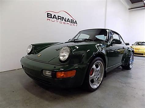 porsche 911 irish green irish green 1994 porsche 911 turbo 3 6 german cars for