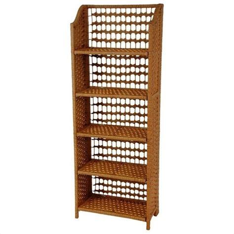 Honey Shelf by Furniture 5 Shelf Shelving Unit In Honey Jh09