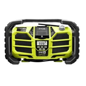 ryobi radio with battery charger ridgid plumbing