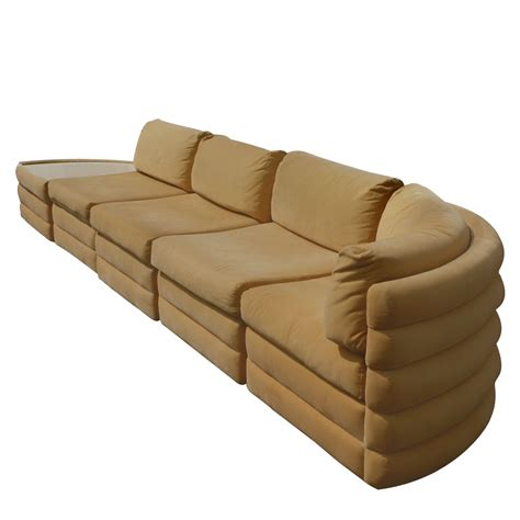5 piece sectional sofa 5 piece milo baughman thayer coggin sectional sofa couch