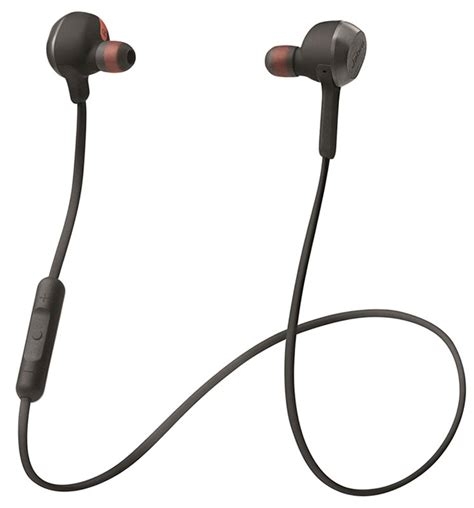 Eksklusif Earphone Headset Jabra Bass Stereo Jabra Rox Wireless Stereo Headset Black