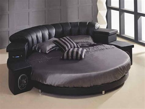 round leather bed modern leather round bed stuff i want pinterest