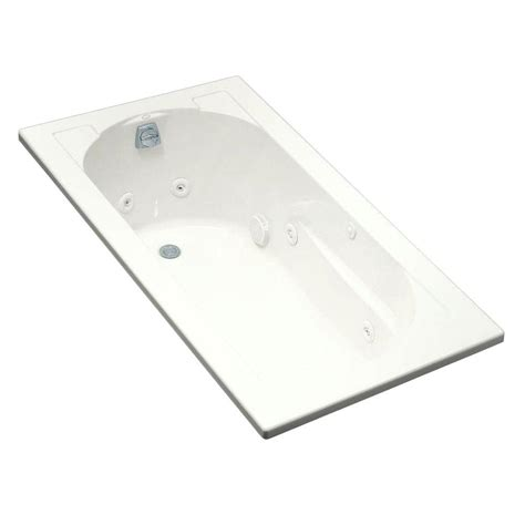 kohler devonshire bathtub kohler devonshire 5 ft acrylic oval drop in whirlpool