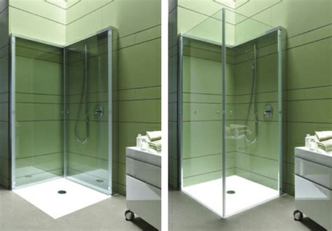 raumsparende badezimmer ideen moderne duschkabine f 252 r das badezimmer