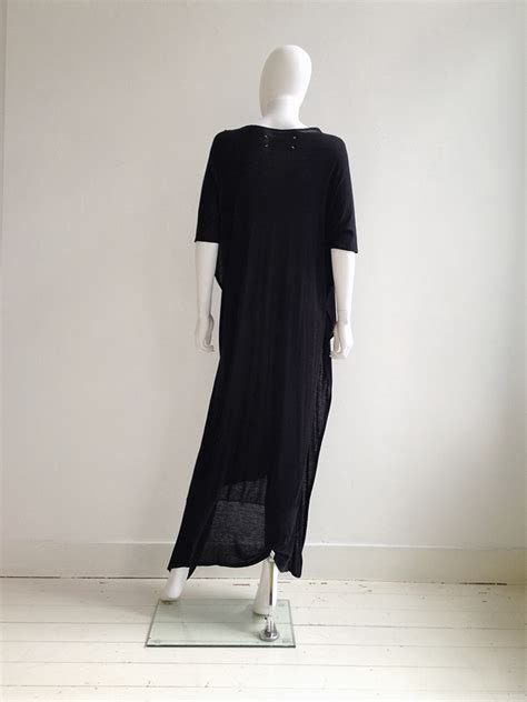 Square Black Maxy maison martin margiela black square maxi dress v a n ii