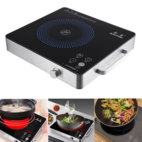 Countertop Induction Cooker - 2200w electric induction cooker cooktop kitchen burner