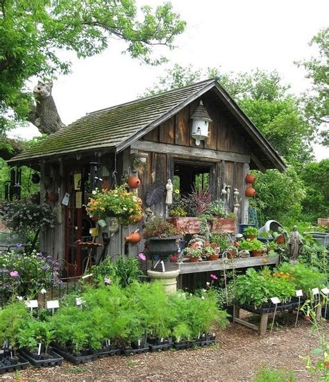 Rustic Potting Sheds by Rustic Garden Shed Home Building