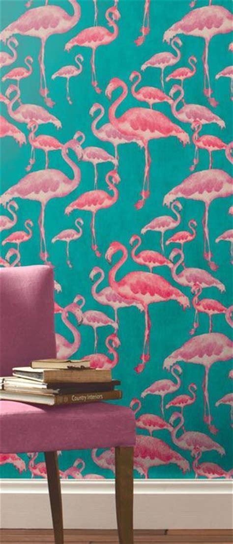 flamingo wallpaper kitchen flamingo beach fuschia designer wallpaper flamingos