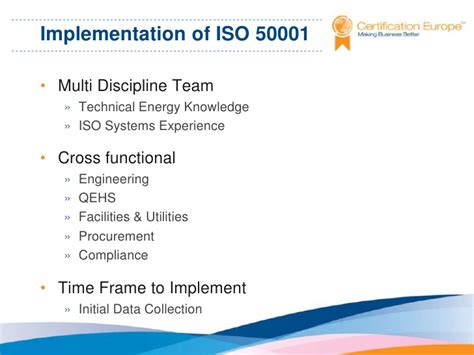 Effective Implementation Of An Iso 50001 Energy Management System Enms iso 50001 energy management certification