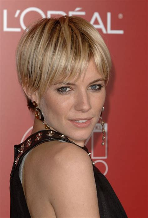 Very Short Haircuts For Straight Hair | very short hairstyles for straight hair sienna miller