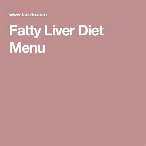 Liver Cleansing Detox Diet Menu by Best 25 Fatty Liver Diet Ideas On Liver Detox