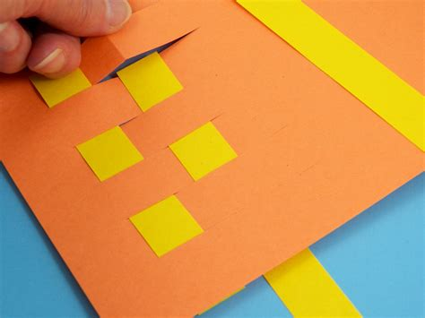 How To Make Paper Mat - paper weaving www pixshark images galleries with a