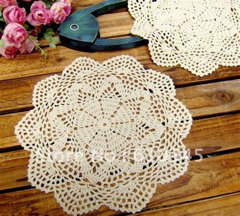 Crochet Table Mats - free shipping wholesale made crochet table mat 100