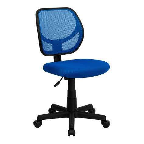 computer chair flash furniture wa 3074 bl gg blue mesh computer chair