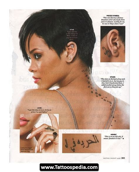 rihanna roman numeral tattoo numeral tattoos on rihanna tattoomagz