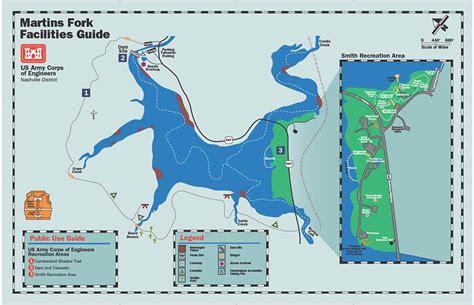 nashville district gt locations gt lakes gt martins fork lake