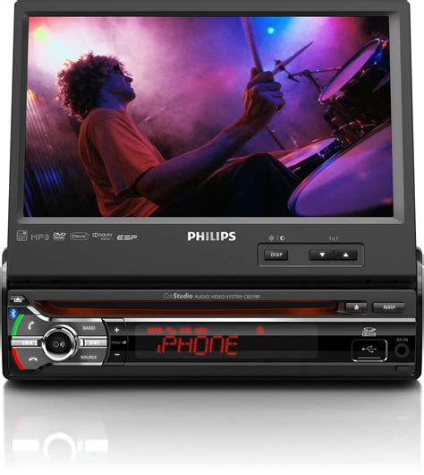 Auto Video by Car Audio Video System Ced780 05 Philips