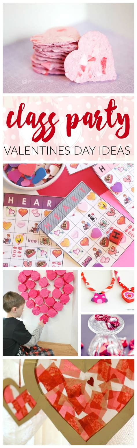ideas for valentines day for school s day class ideas