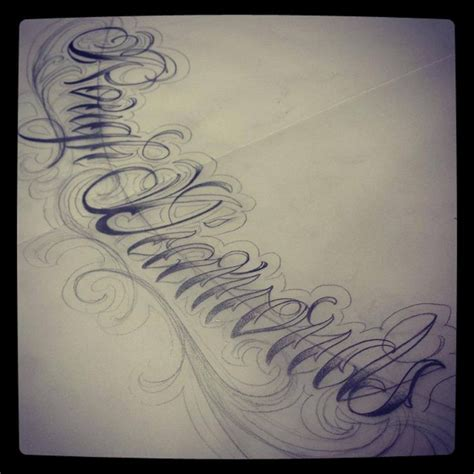 diamond in the rough tattoo script design by lovelee diamonds