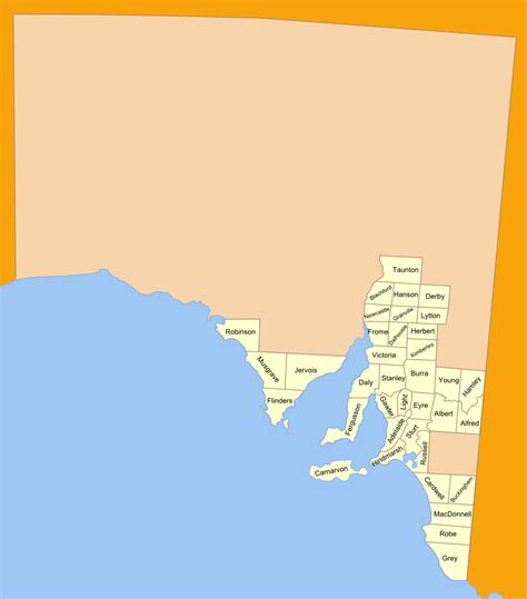 Find In Australia By Name For Free Lands Administrative Divisions Of South Australia