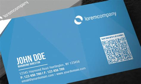 Adding Mba To Business Card by 30 Sleek Qr Code Business Card Designs Creativefan