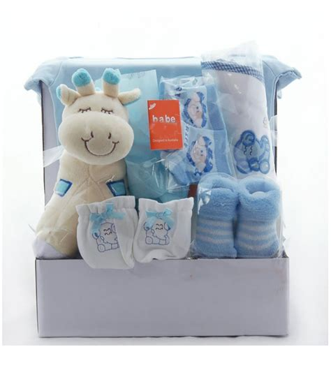 gift for baby giraffe baby gift basket for boys newborn baby gifts