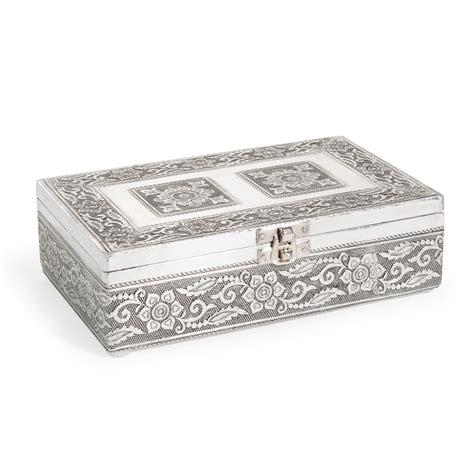 bo 238 te 224 bijoux en m 233 tal grise h 6 cm nansana maisons du