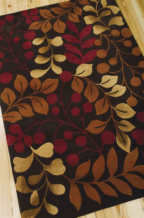 Contour Rugs by Contour Con02 Chocolate Rug By Nourison