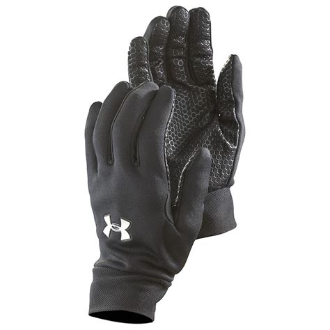 under armoir gloves under armour 174 stretch gloves black 209504 gloves
