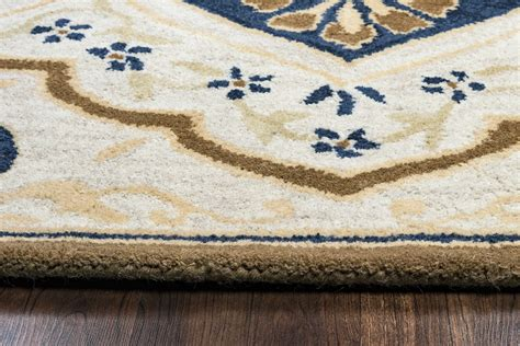 navy blue and beige area rugs valintino spades medallion wool area rug in gray navy beige blue 9 x 12